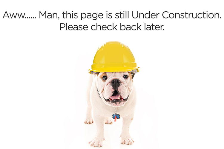 Dog Page Under Construction